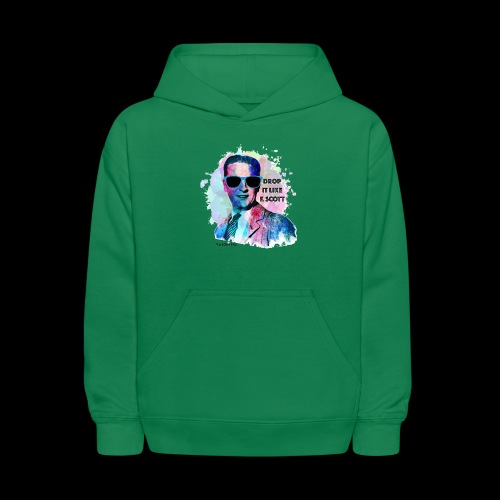 Drop it Like F. Scott | Write Music - Kids' Hoodie