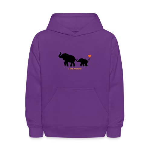 I Love You Tons! - Kids' Hoodie