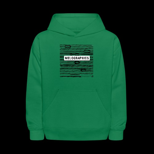 MELOGRAPHICS | Blackout Poem - Kids' Hoodie
