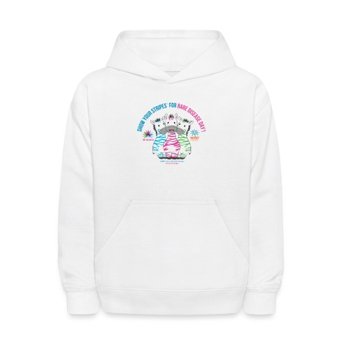 Show Your Stripes for Rare Disease Day! - Kids' Hoodie