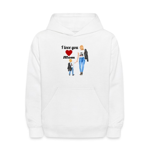 Mother's day gift from daughter, Mother's Day Gift - Kids' Hoodie