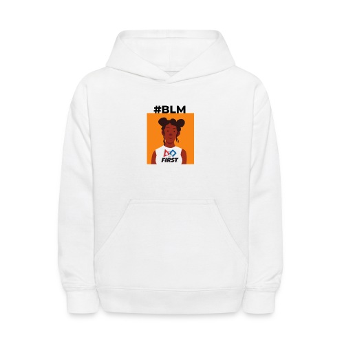 #BLM FIRST Girl Supporter - Kids' Hoodie
