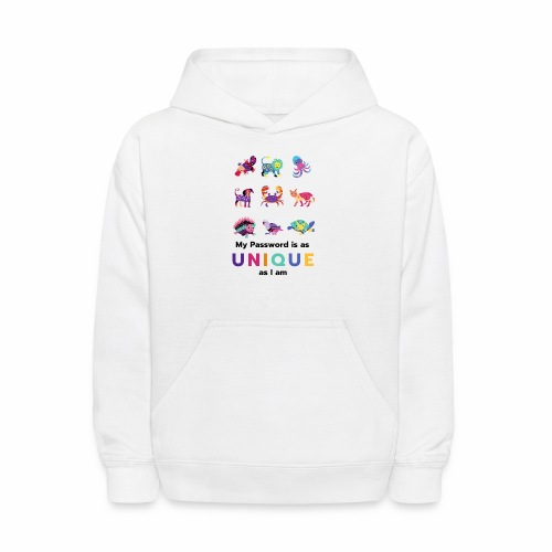 Make your Password as Unique as you are! - Kids' Hoodie