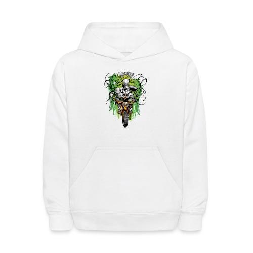 Motocross Ghouls - Kids' Hoodie