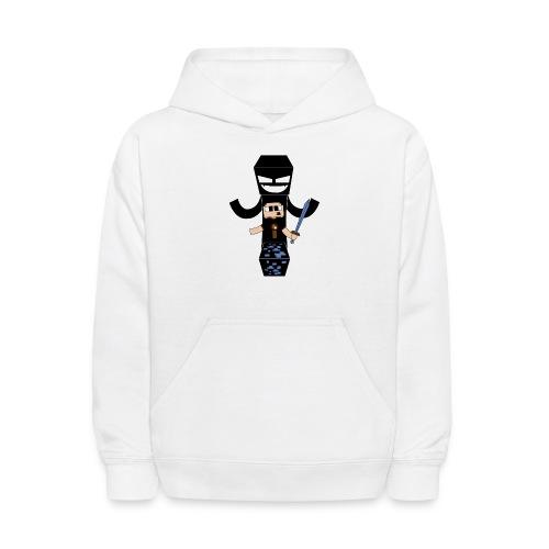 camisa01clr - Kids' Hoodie