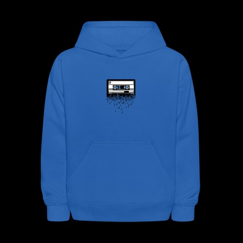 Music Notes Cassette Tape - Kids' Hoodie