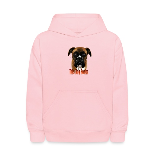 This Dog Rocks - Kids' Hoodie