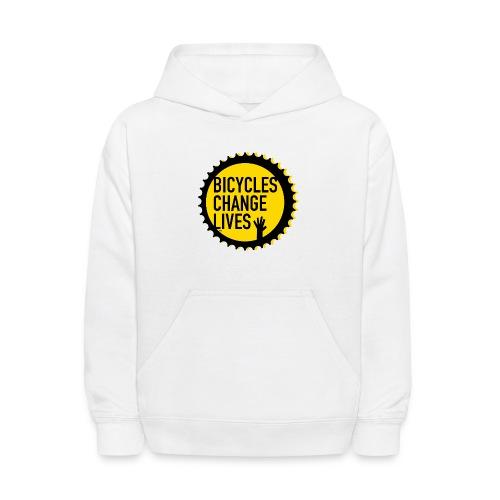 BCL Yellow Cog - Kids' Hoodie