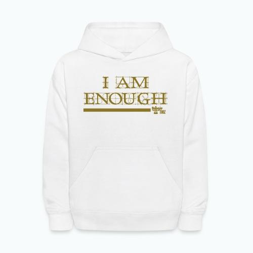 ENOUGH - Kids' Hoodie