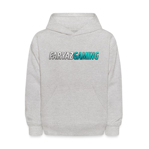 FaryazGaming Theme Text - Kids' Hoodie