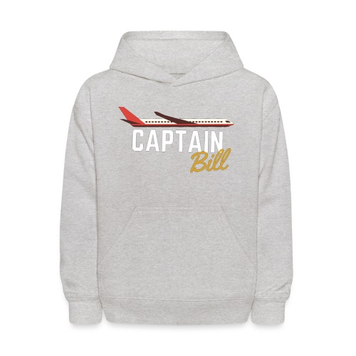 Captain Bill Avaition products - Kids' Hoodie