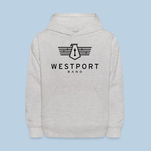 Westport Band Back on transparent - Kids' Hoodie