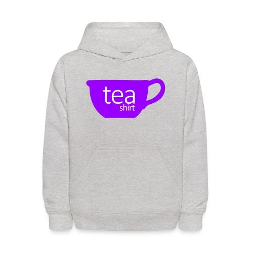 Tea Shirt Simple But Purple - Kids' Hoodie
