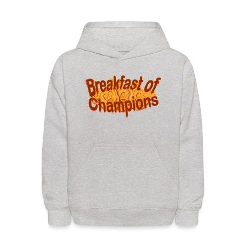 Breakfast of Champions - Kids' Hoodie