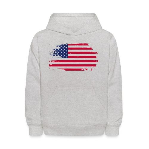 usa america american flag - Kids' Hoodie