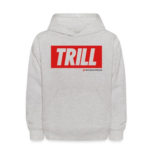 trill red iphone - Kids' Hoodie