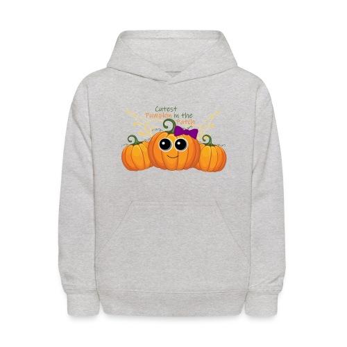 cutest pumpkin - Kids' Hoodie