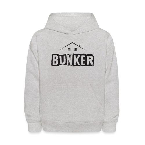 Balck BUNKER - Kids' Hoodie