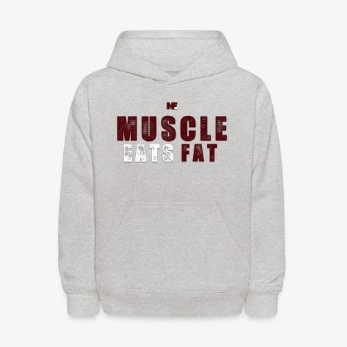 Muscle Eats Fat (Minutemen Edition) - Kids' Hoodie