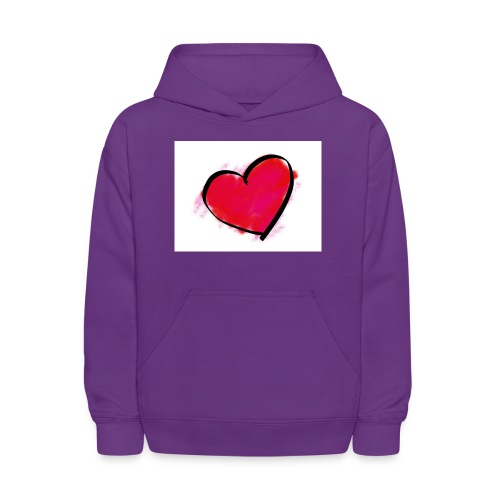 heart 192957 960 720 - Kids' Hoodie