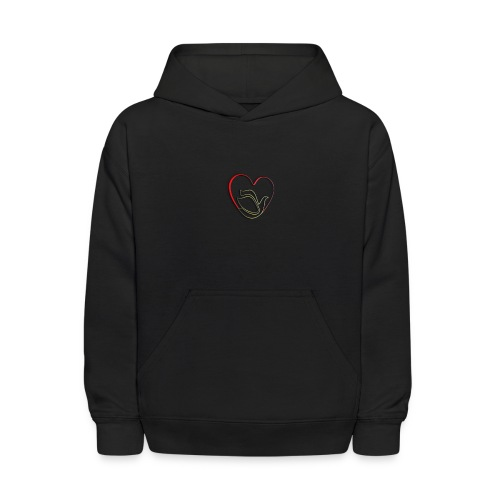 Love and Pureness of a Dove - Kids' Hoodie