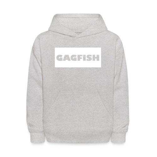 GAGFISH WIGHT LOGO - Kids' Hoodie