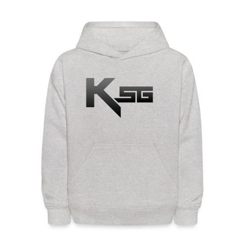 Black KSG png - Kids' Hoodie