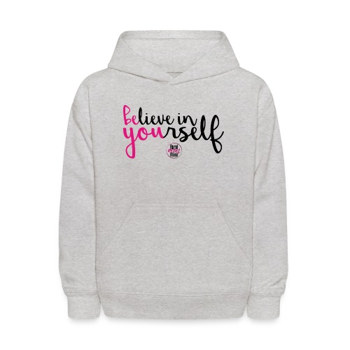 BE YOU shirt design w logo - Kids' Hoodie