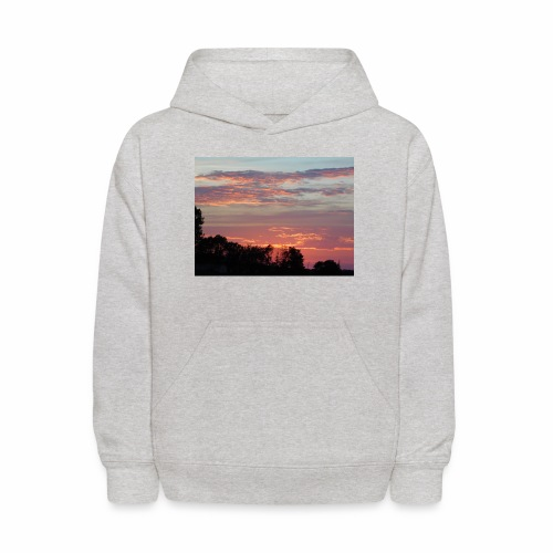 Sunset of Pastels - Kids' Hoodie