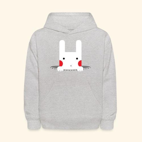 Pocket Bunny - Kids' Hoodie