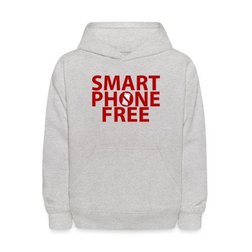 SMART PHONE FREE - Kids' Hoodie