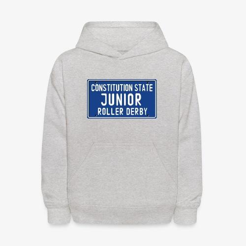 Constitution State Junior Roller Derby - Kids' Hoodie