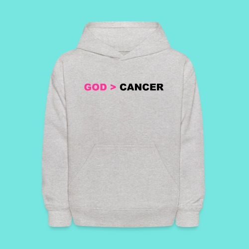 GOD IS GREATER THAN CANCER - Kids' Hoodie