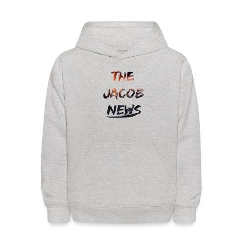 jacob news - Kids' Hoodie