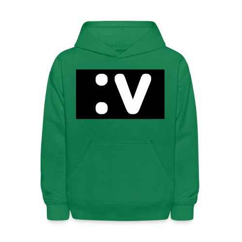 LBV side face Merch - Kids' Hoodie