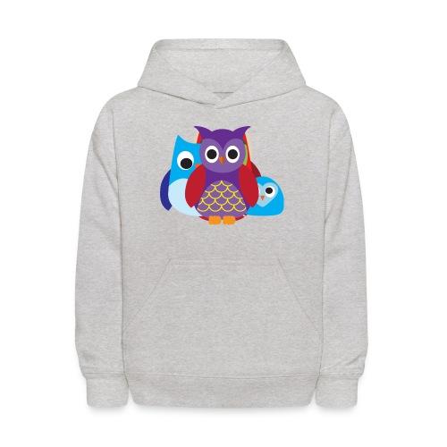 Cute Owls Eyes - Kids' Hoodie