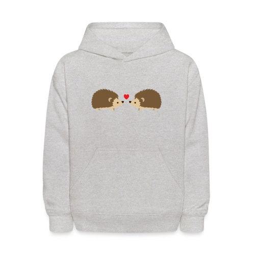 Hedgehog Lovers - Kids' Hoodie