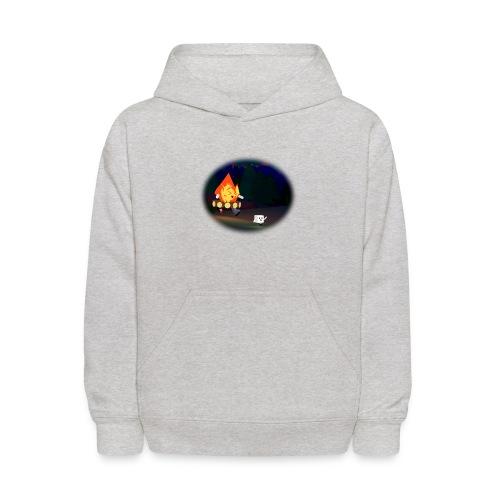 'Round the Campfire - Kids' Hoodie