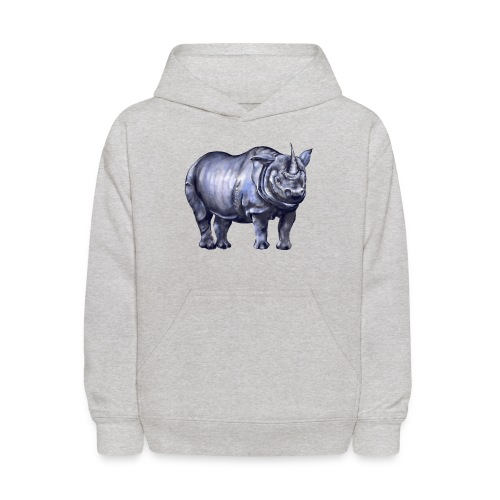 One horned rhino - Kids' Hoodie