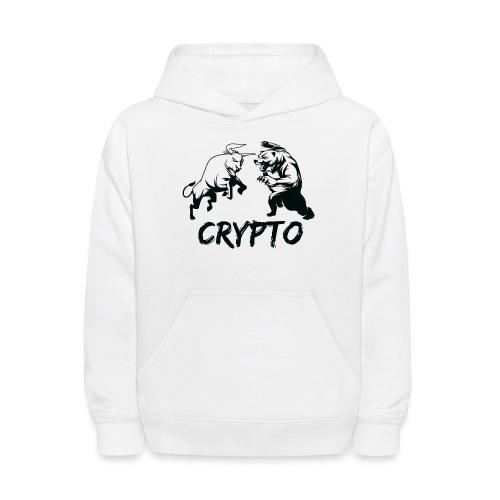 CryptoBattle Black - Kids' Hoodie