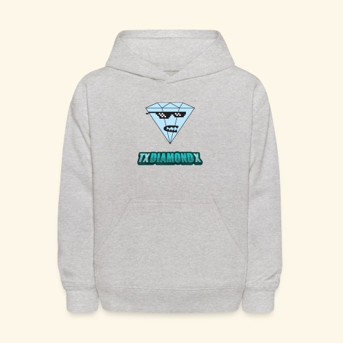 Txdiamondx Diamond Guy Logo - Kids' Hoodie