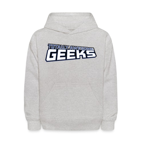 Logo For Totally Awesome Geeks - Kids' Hoodie