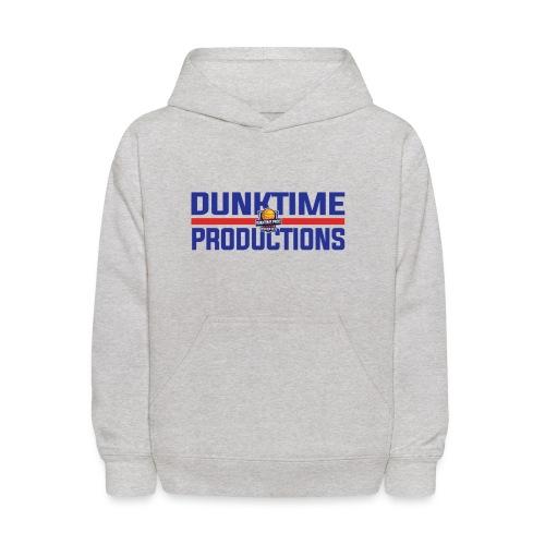 DUNKTIME Retro logo - Kids' Hoodie