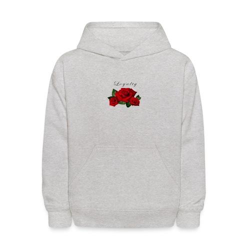 rose shirt - Kids' Hoodie