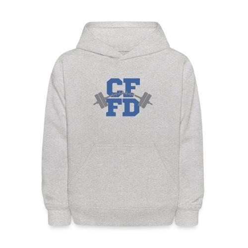 CFFD Barbell - Kids' Hoodie