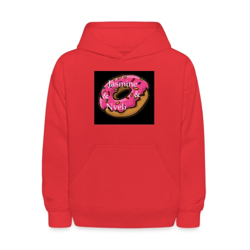 Black Donut W/ Our Channel Name - Kids' Hoodie