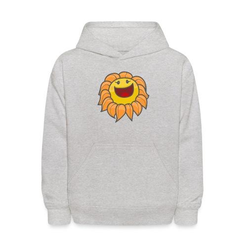 Happy sunflower - Kids' Hoodie