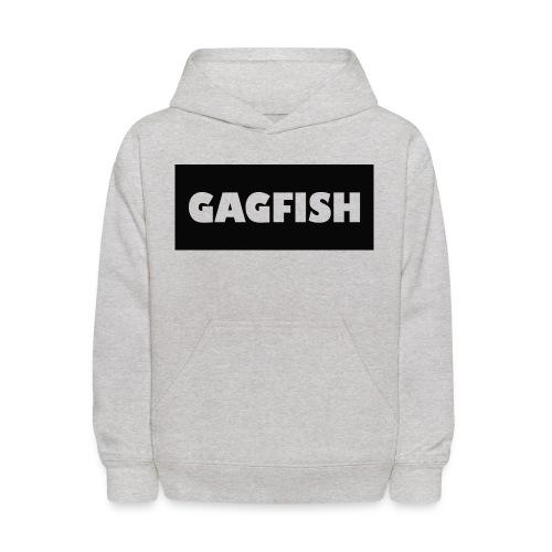 GAGFISH BLACK LOGO - Kids' Hoodie