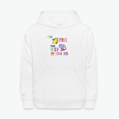 LOLAS LAB FREE YOUR WILD IMAGINATION TEE - Kids' Hoodie