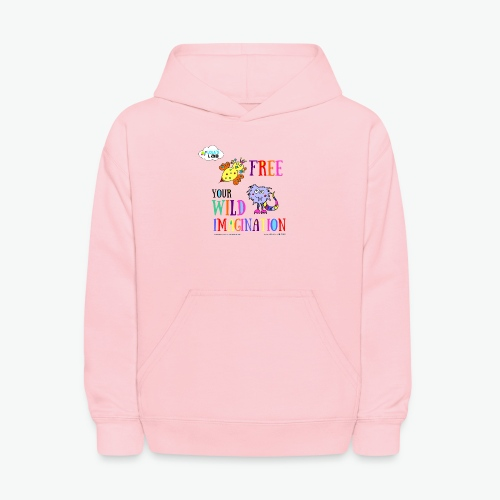 LOLAS LAB FREE YOUR WILD IMAGINATION TEE - Kids' Hoodie